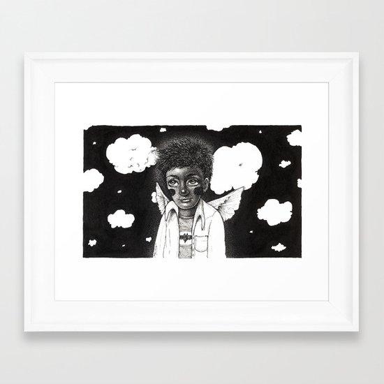 Angelito Framed Art Print