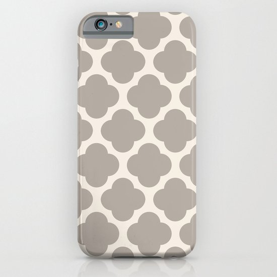 gray clover iPhone & iPod Case