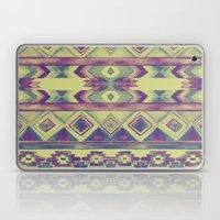 Southwest Pattern - Lime, Purple & Blue Laptop & iPad Skin