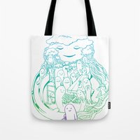 Absent Friends Tote Bag