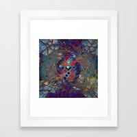Mosaic Abstract Framed Art Print
