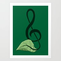 Nature Song Art Print