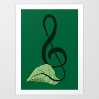 Nature Song Art Print