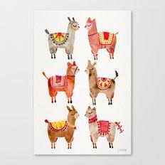 Alpacas Canvas Print