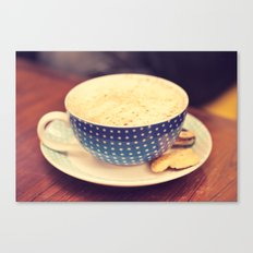 A Cup of Coffee Canvas Print