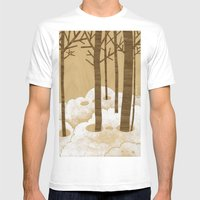 Forest is Alive! Mens Fitted Tee White SMALL