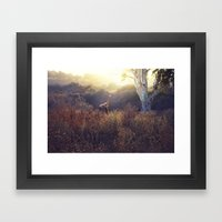 Last Time Here Framed Art Print