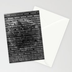 Black Stars & Black Stripes Stationery Cards