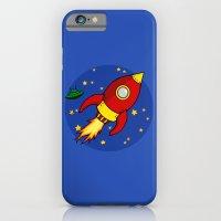 Space Rocket iPhone 6 Slim Case