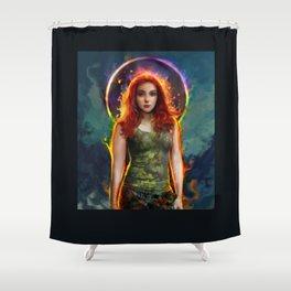 Shower Curtain - poison ivy - ururuty