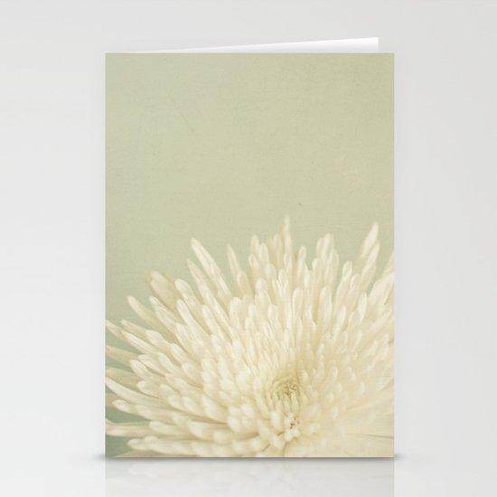 Pale Beauty Stationery Card