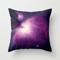 Space Throw Pillow