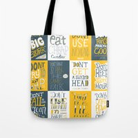 Major Taylor Grid Tote Bag