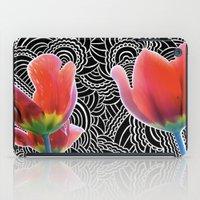 Tulip Drawing Meditation iPad Case