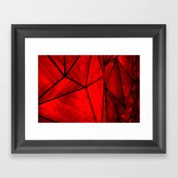 Modern Abstract Triangle… Framed Art Print