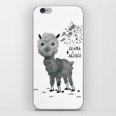 llama or alpaca iPhone & iPod Skin