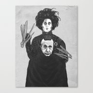 Bored With My Old Hairst… Canvas Print
