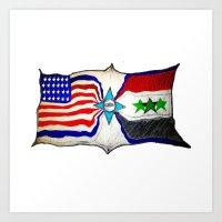 Flag Art Print