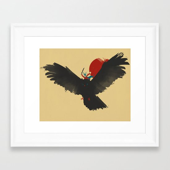 Red Rider Framed Art Print