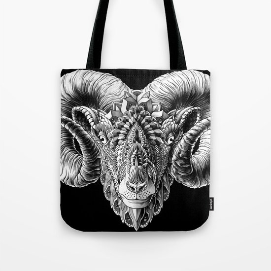 Ram Head Tote Bag