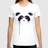 panda T-shirts featuring Panda by Tobe Fonseca