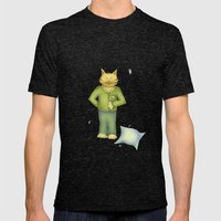 You Are The Cat's Pajama… Mens Fitted Tee Tri-Black SMALL