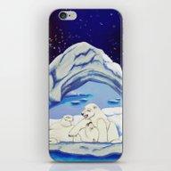 Peaceful Polar Bears iPhone & iPod Skin