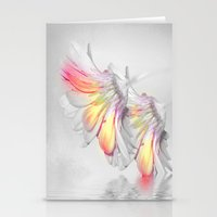 Gerbera Style Stationery Cards