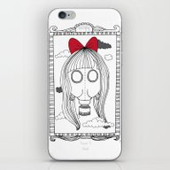 I Only Wear My Gas Mask iPhone & iPod Skin