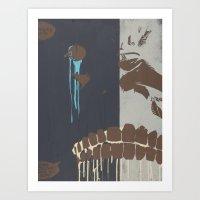 CHOMP Art Print