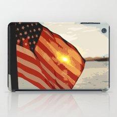 Patriot's Sunset iPad Case