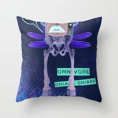 Omnivore Throw Pillow