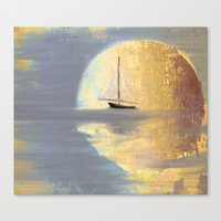 Lost In Moonlight Canvas Print