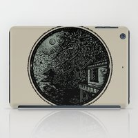 Miniature Circle Landscape 1: Morning Vision iPad Case