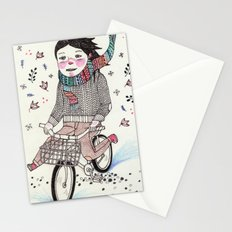 Winter Warrior Stationery Cards