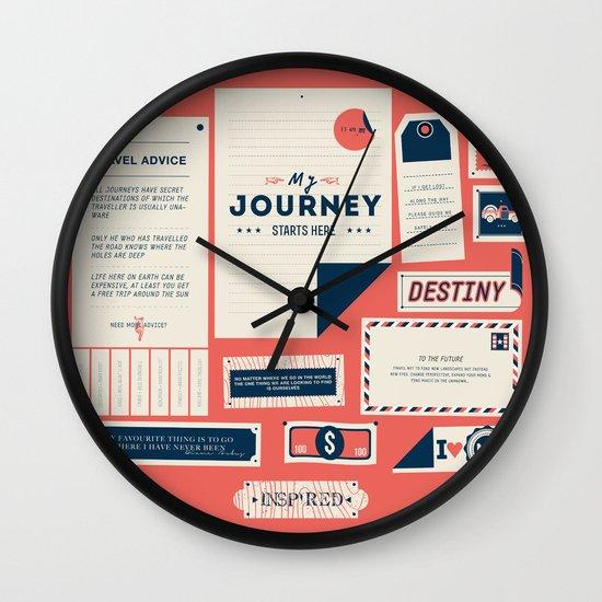 The Destination Wall Clock