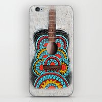 Retro Guitar iPhone & iPod Skin