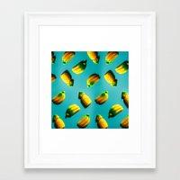 Ananas 'N Bananas Framed Art Print