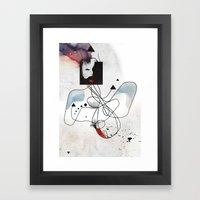 Advanced Indigo   Framed Art Print