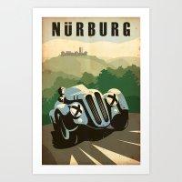Nürburg Art Print