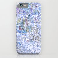 doomsday in blue iPhone 6 Slim Case