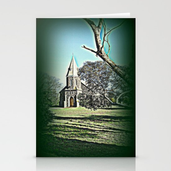 Country Church Stationery Card