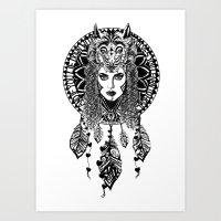 Bohemian Dreams Art Print