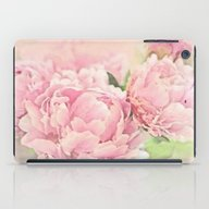 Pink Peonies iPad Case