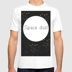 Space dust SMALL White Mens Fitted Tee