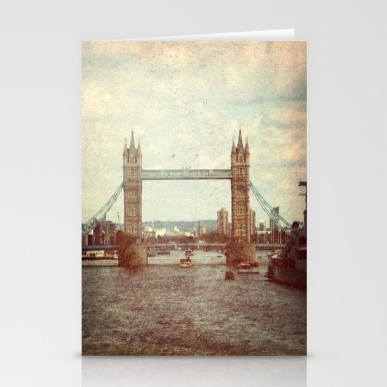 Tower Bridge 2 Stationery Card
