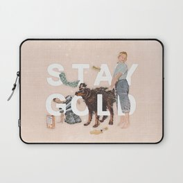 Laptop Sleeve - Stay Gold - Heather Landis