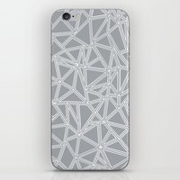 Abstract New Grey iPhone & iPod Skin