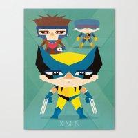 X Men fan art Canvas Print