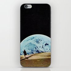 Moon walking iPhone & iPod Skin